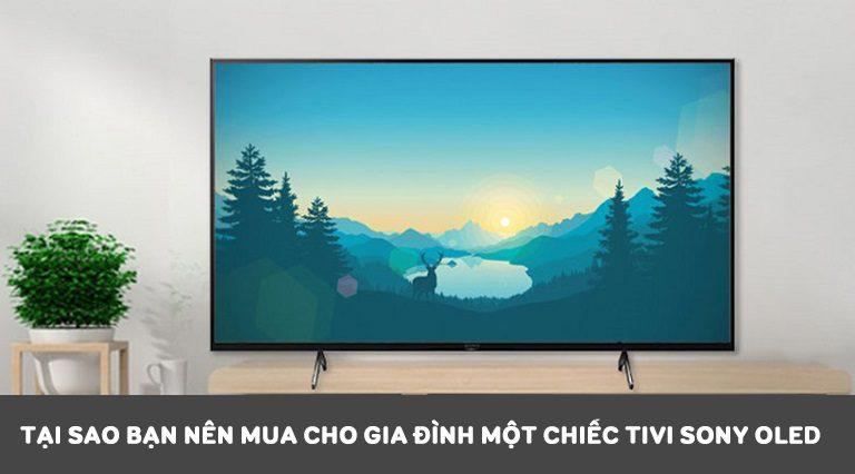 Tại sao bạn nên mua cho gia đình một chiếc tivi Sony Oled