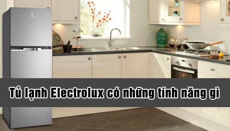Tủ lạnh Electrolux có những tính năng gì?