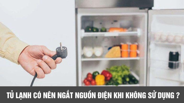 thinh-phat-Tủ lạnh có nên rút nguồn điện khi không sử dụng