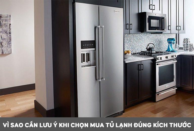 thinh-phat-Vì sao cần lưu ý khi chọn mua tủ lạnh đúng kích thước