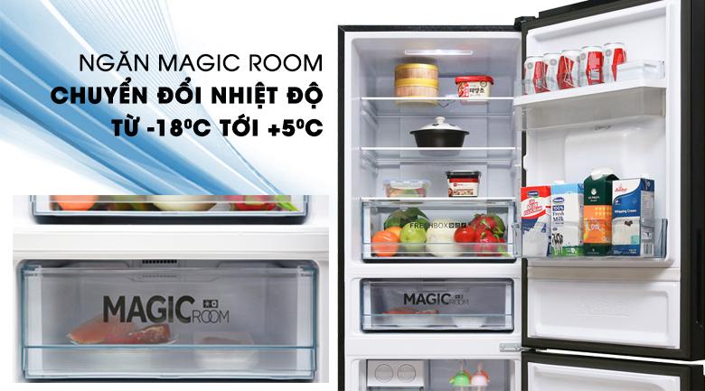 Tủ lạnh Aqua Inverter 288 lít AQR-IW338EB (BS), linh hoạt chuyển đổi nhiệt độ
