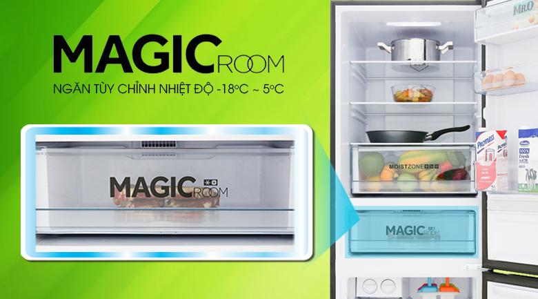 Tủ lạnh Aqua Inverter 288 lít AQR-IG338EB GB, ngăn đông tùy chỉnh